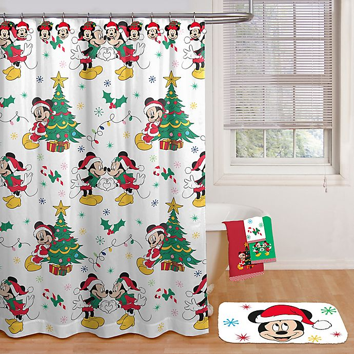 Alternate image 1 for Disney® Fa La La Shower Curtain Collection