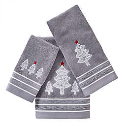 Holiday Fir Bath Towel Collection