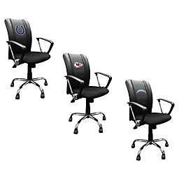 NFL Curve Task Chair with Primary Logo Collection