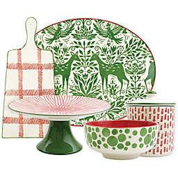 viva by VIETRI Mistletoe Serveware Collection