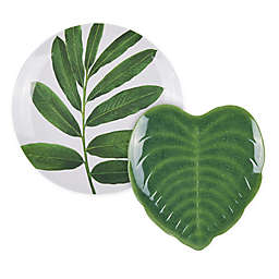 W Home™ Palm Leaf Dinnerware Collection