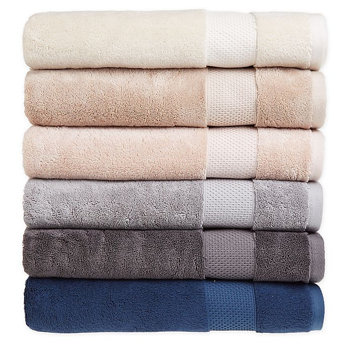 Alternate image 1 for Therapedic® Solid Cotton Bamboo Bath Towel Collection