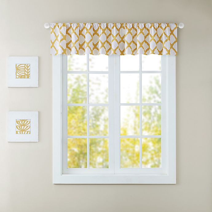 Alternate image 1 for JLA Felis Bath Window Curtain Valance
