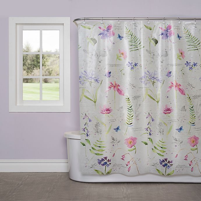 Alternate image 1 for Soft Nature PEVA Shower Curtain