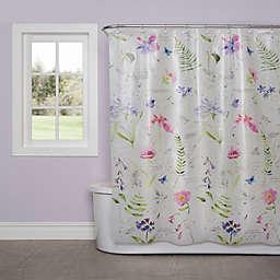 SKL Home Soft Nature PEVA Shower Curtain
