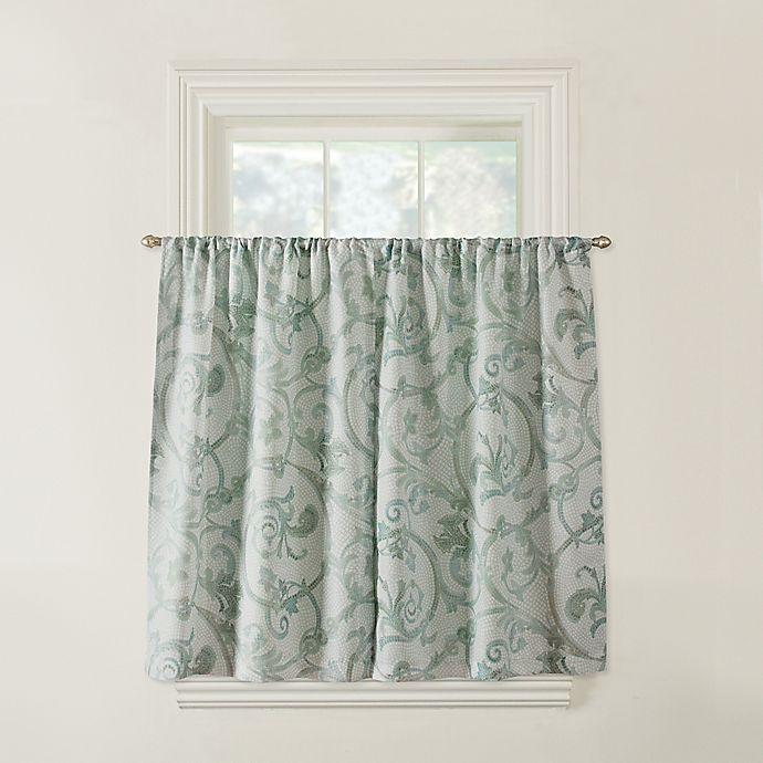 Alternate image 1 for Savona Bath Window Curtain in Blue