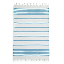 Linum Home Textiles Herringbone Fouta Pestemal Beach Towels