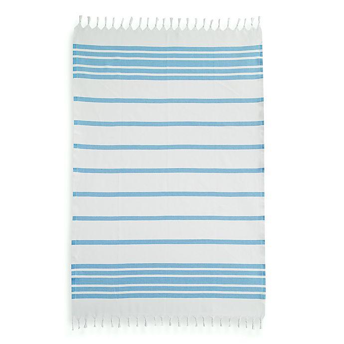 Alternate image 1 for Linum Home Textiles Herringbone Fouta Pestemal Beach Towels