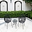 Part of the Destination Summer Round Wicker String Outdoor Furniture Collection