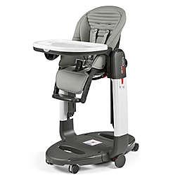 Peg Perego Tatamia High Chair in Grey Stripes