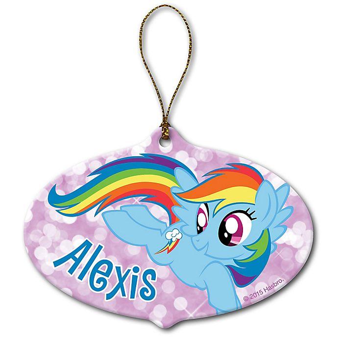 Alternate image 1 for My Little Pony® Rainbow Dash Ornament
