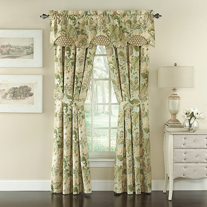 Waverly® Garden Glory Floral Window Curtain Panels And