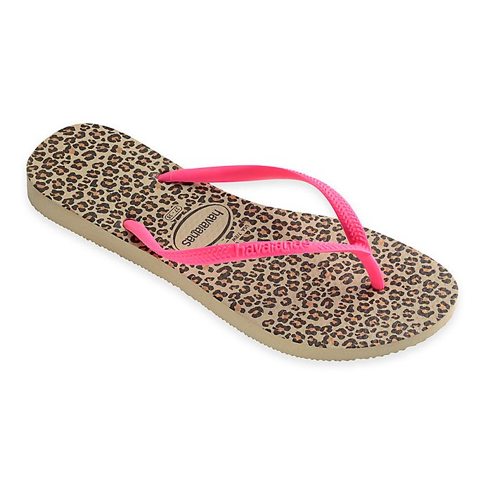 2d87f37588e5 Havaianas® Slim Animals Women s Sandal in Sand Pink