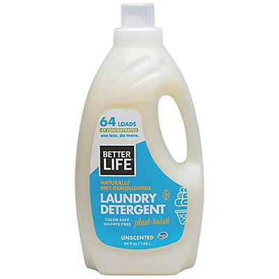 Better Life® Naturally Dirt-Demolishing 64 oz. Unscented Laundry Detergent