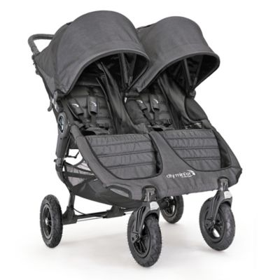 Baby Jogger City Mini Gt Double Stroller In Charcoal