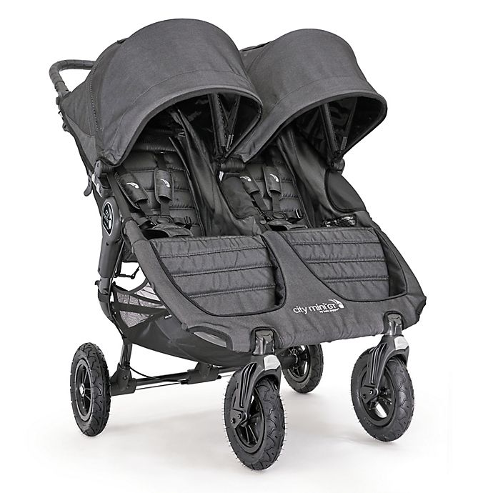 Baby Jogger City Mini Gt Double Stroller In Charcoal Buybuy Baby