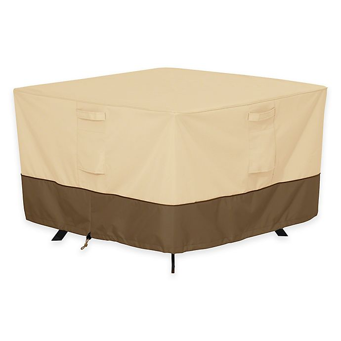 Alternate image 1 for Classic Accessories® Veranda Square Patio Table Outdoor Cover