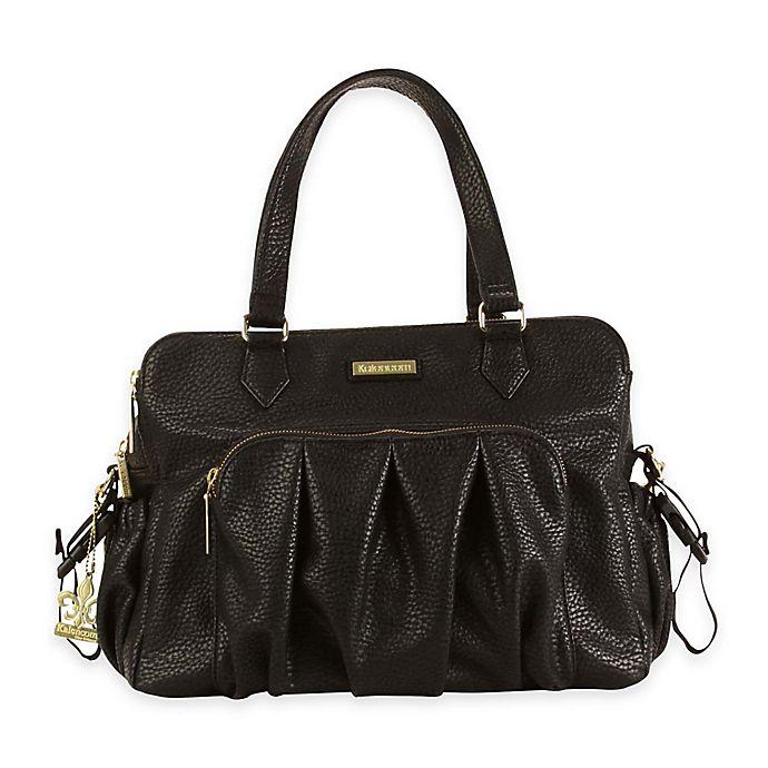 Alternate image 1 for Kalencom® Berlin Diaper Bag in Black