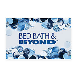 Blue Confetti Gift Card