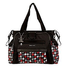 Kalencom® Nola Tote Houndstooth Diaper Bag in Multiple Colors