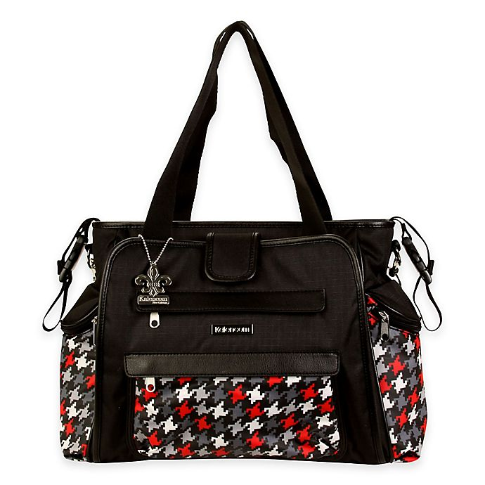 Alternate image 1 for Kalencom® Nola Tote Houndstooth Diaper Bag in Multiple Colors