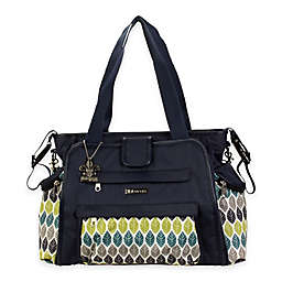 Kalencom® Nola Tote Diaper Bag in Navy/Feathers
