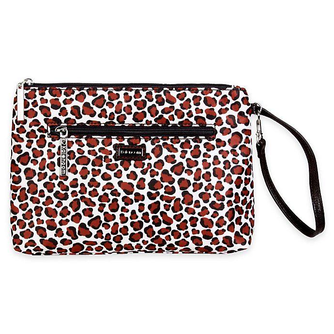 Alternate image 1 for Kalencom® Diaper Clutch in Safari Cheetah