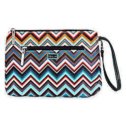 Kalencom® Diaper Clutch in Safari Zig Zag