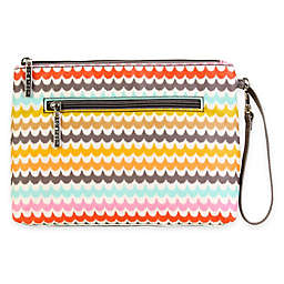 Kalencom™ Spa Print Diaper Clutch