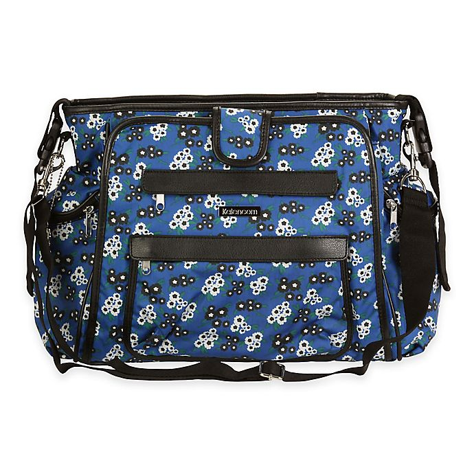 Alternate image 1 for Kalencom® Matte Coated Nola Tote Diaper Bag in Fantasia Floral