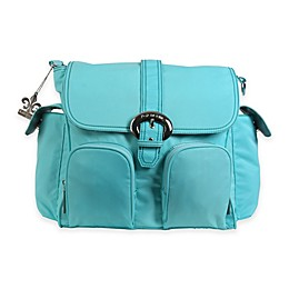 Kalencom® Double Duty Back Pack Diaper Bag in Aqua