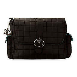 Kalencom® Quilted Buckle Diaper Bag in Black