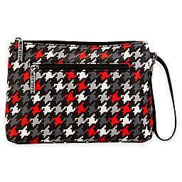 Kalencom® Diaper Clutch in Red Houndstooth