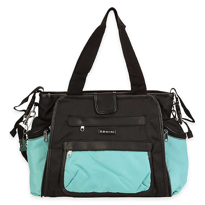 Diaper Bag In Blue Black View A Larger Version Of This Product Image