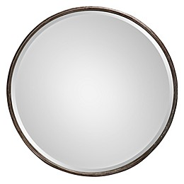 Uttermost 24-Inch Nova Large Mirror in Grey
