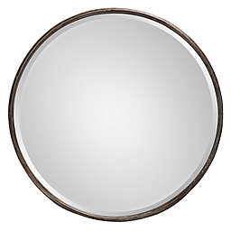 Uttermost 24-Inch Nova Large Mirror in Grey