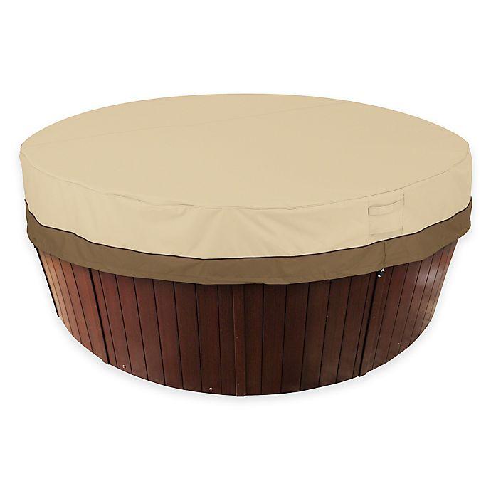 Alternate image 1 for Classic Accessories® Veranda Round Hot Tub Cover