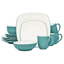 Noritake® Colorwave Square 16-Piece Dinnerware Set