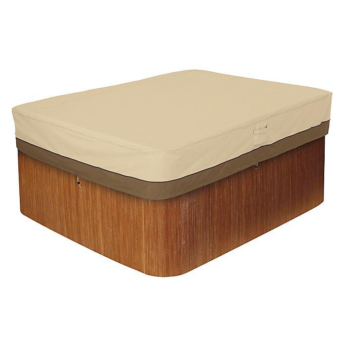 Alternate image 1 for Classic Accessories® Veranda Rectangle Hot Tub Cover