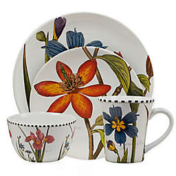 Certified International Botanical Floral Dinnerware Collection