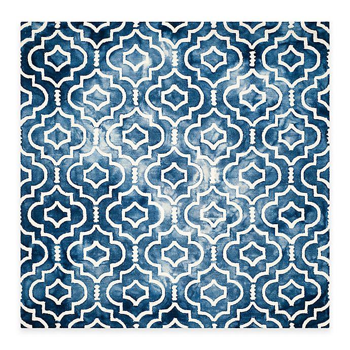Buy Safavieh Dip Dye Moroccan Trellis 7-Foot Square Area