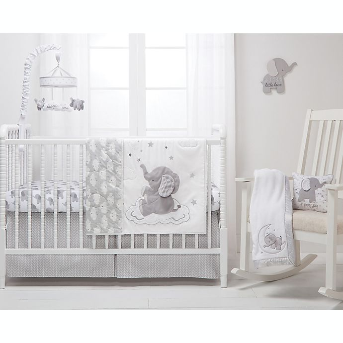 Alternate image 1 for Wendy Bellissimo™ Lil Elephant Nursery Bedding Collection