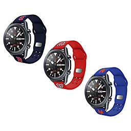 MLB Samsung Watch Compatible Silicone Sports Band