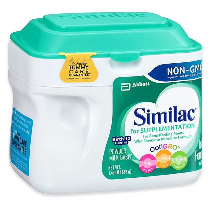 Alternate image 1 for Similac® For Supplementation 23.2 oz. Non-GMO Large Size Powder Formula