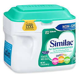 Similac® For Supplementation 23.2 oz. Non-GMO Large Size Powder Formula