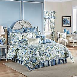 Waverly® Floral Engagement Reversible Comforter Set in Porcelain