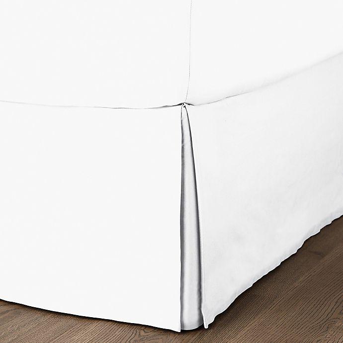 Alternate image 1 for Canadian Living Niagra King Bed Skirt in White