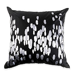 Canadian Living Winnipeg Square Throw Pillow in Grey/Charcoal