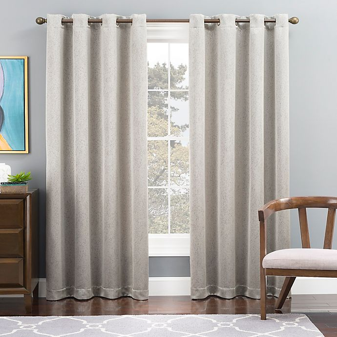 Alternate image 1 for Tribeca Grommet Top Lined Window Curtain Panel