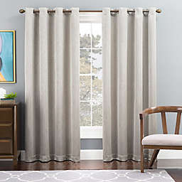 Tribeca Grommet Top Lined Window Curtain Panel
